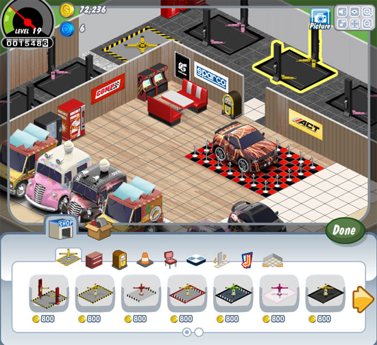 Car Town Facebook Game