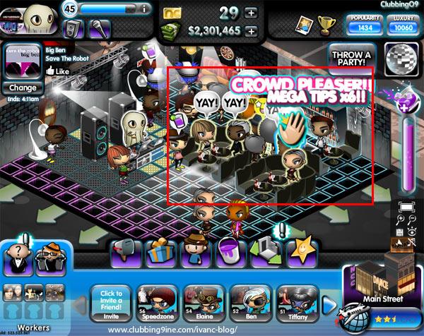 Increase Tip Rates in Nightclub City