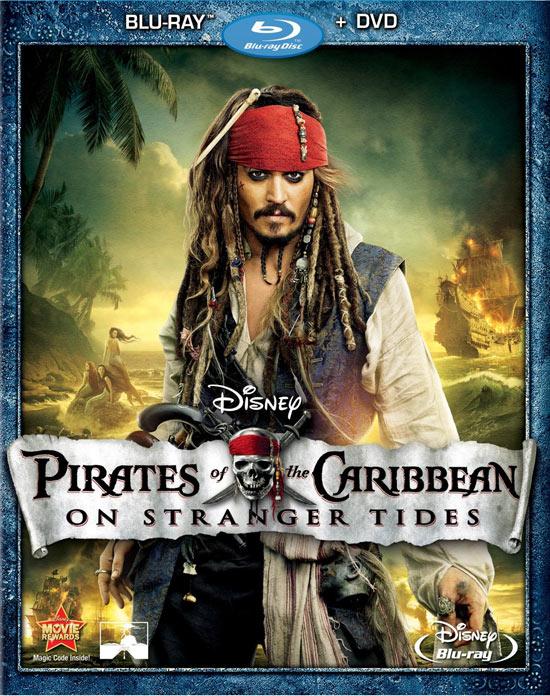 pirates of carribean strangers tide bluray