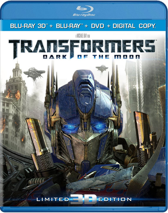 Transformers 3 3D Blu-ray
