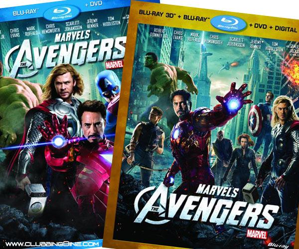 marvels avengers blu ray