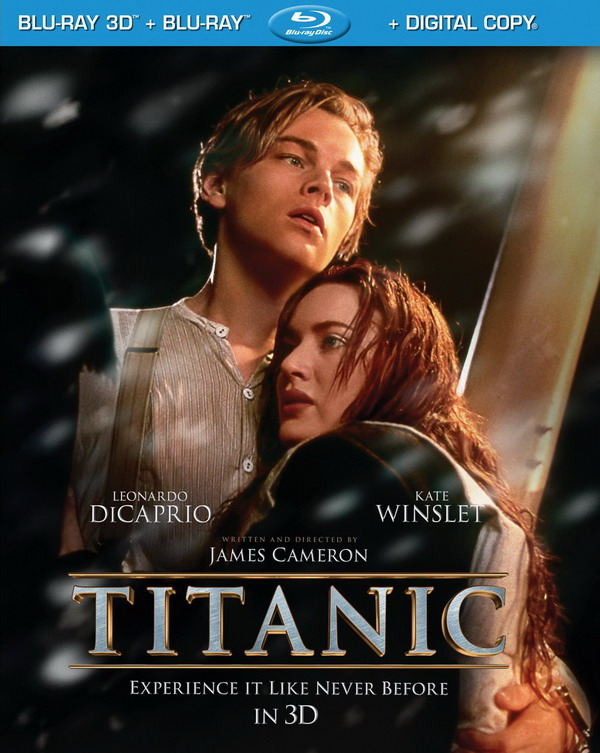 titanic 3d bluray