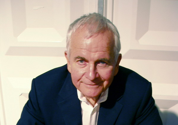 Ian Holm as old Bilbo Baggins