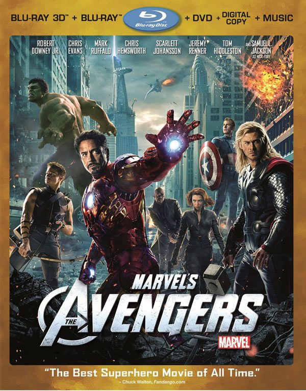 marvel the avengers bluray