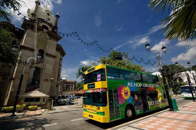 KL Hop On Hop Off Tour Bus