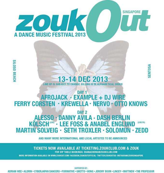 zoukout 2013