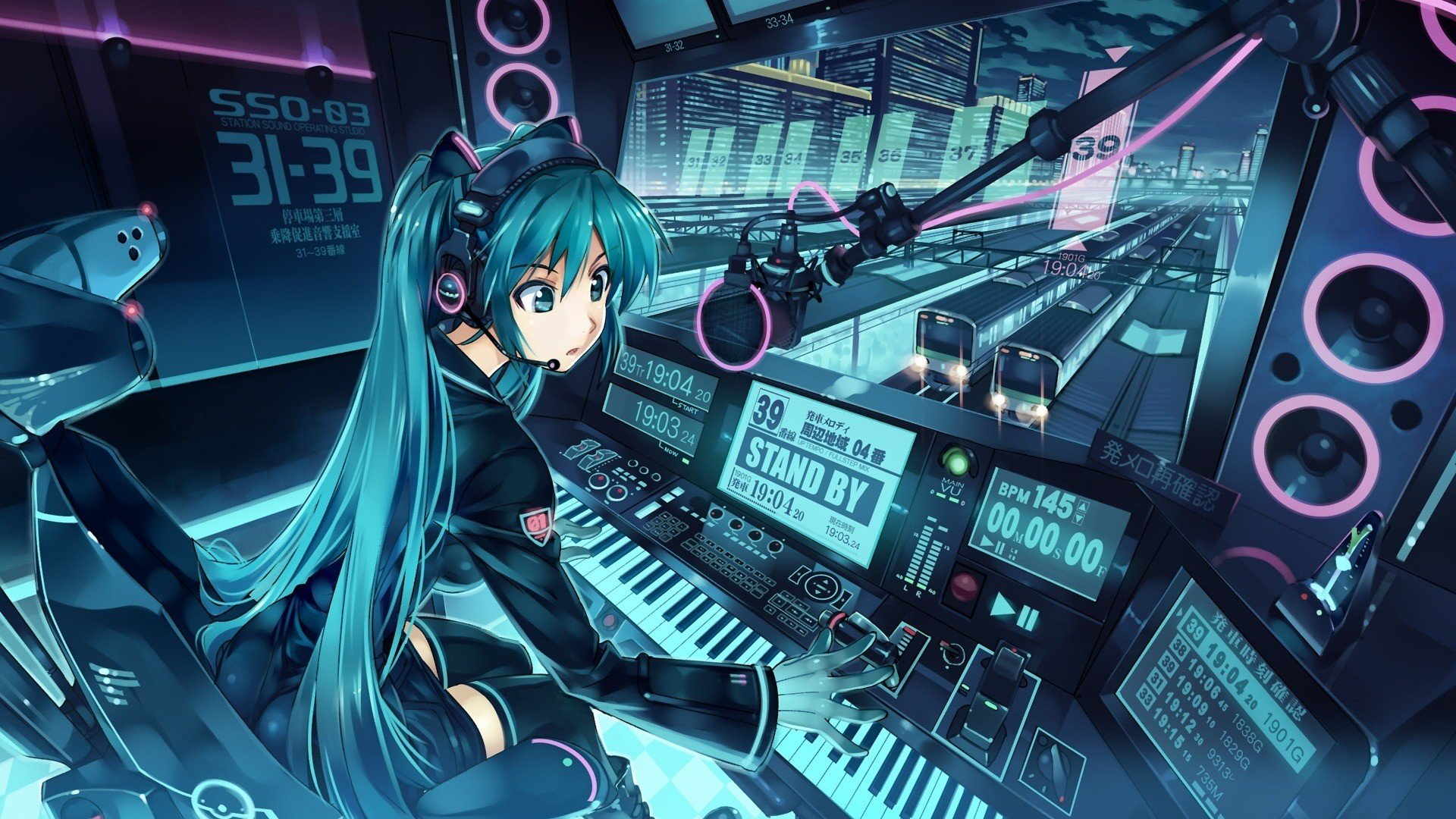 Anime DJ Wallpaper HD