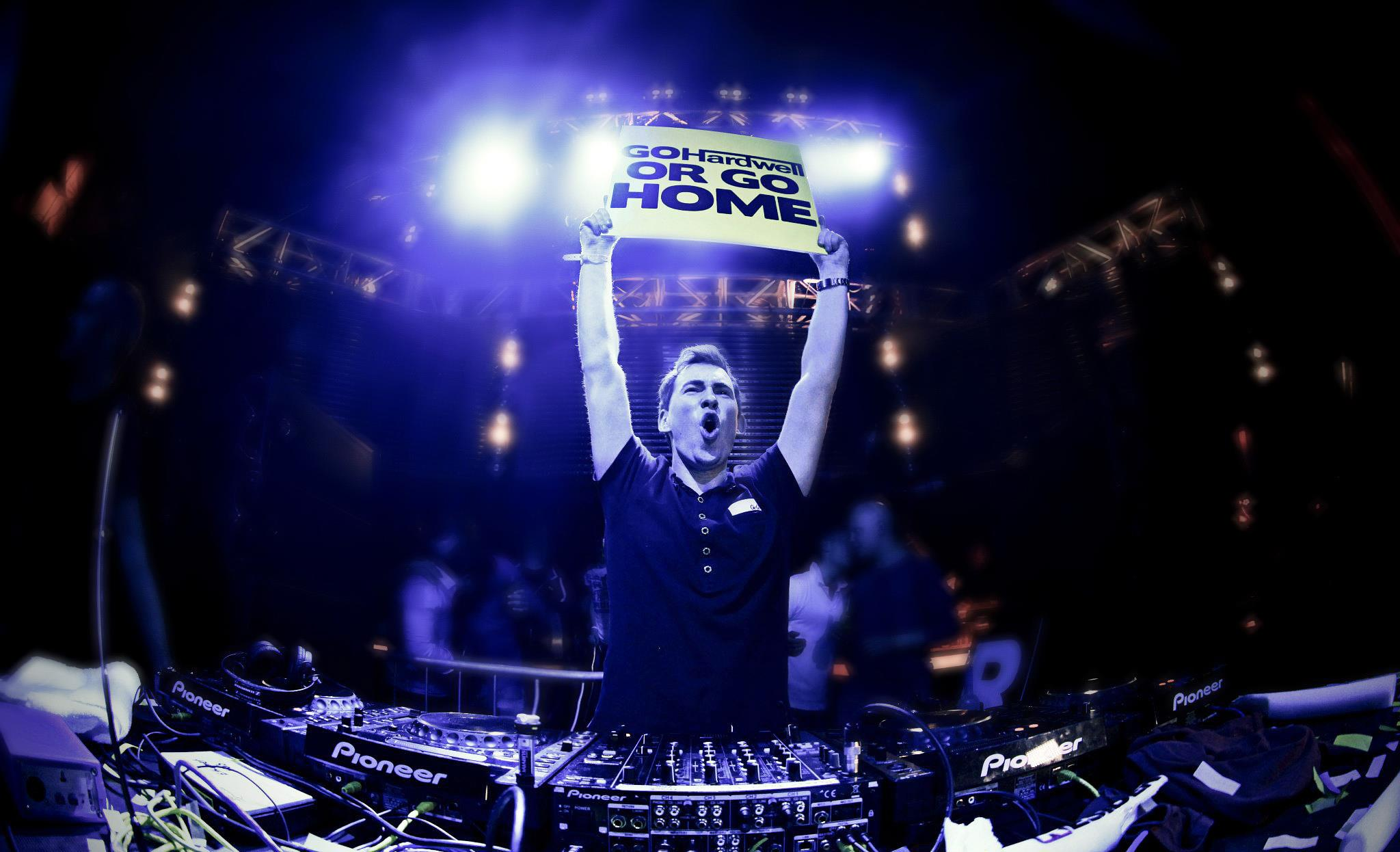 DJ Hardwell HD Wallpaper