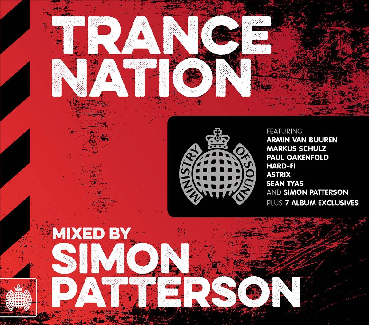 Simon Patterson Trance Nation Album 2015