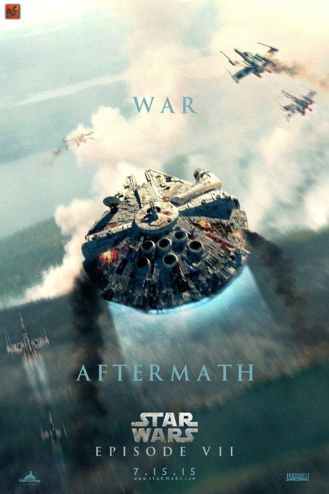 Star Wars Episode 7 Poster Fan Made