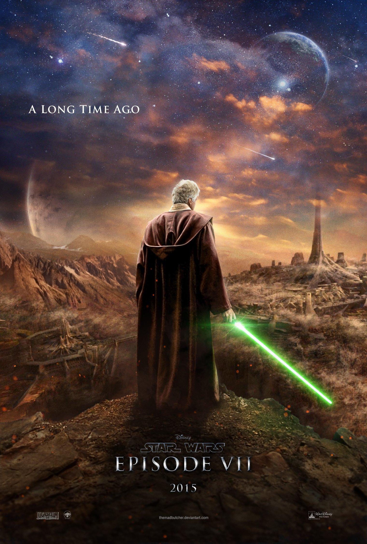 Star Wars Episode 7 Jedi Poster Fan Made