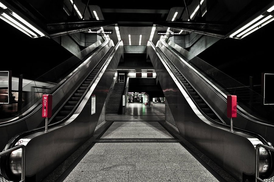 Subway Station Photo for House Music Cover