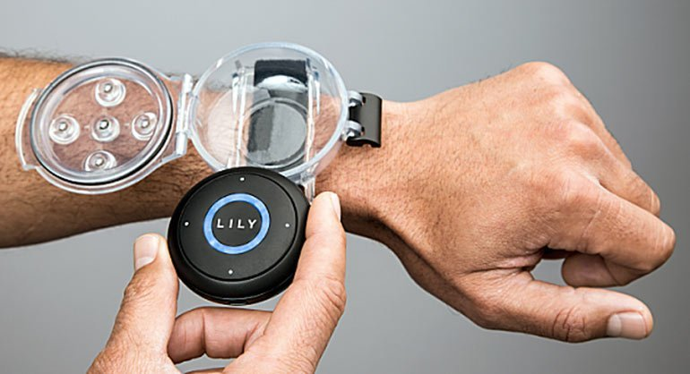 Lily Tracking Device