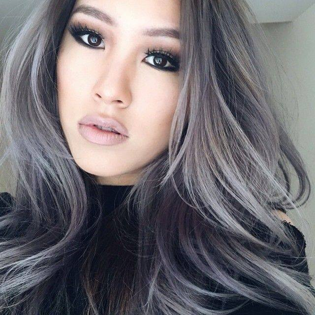 Beautiful Grey Hair Women