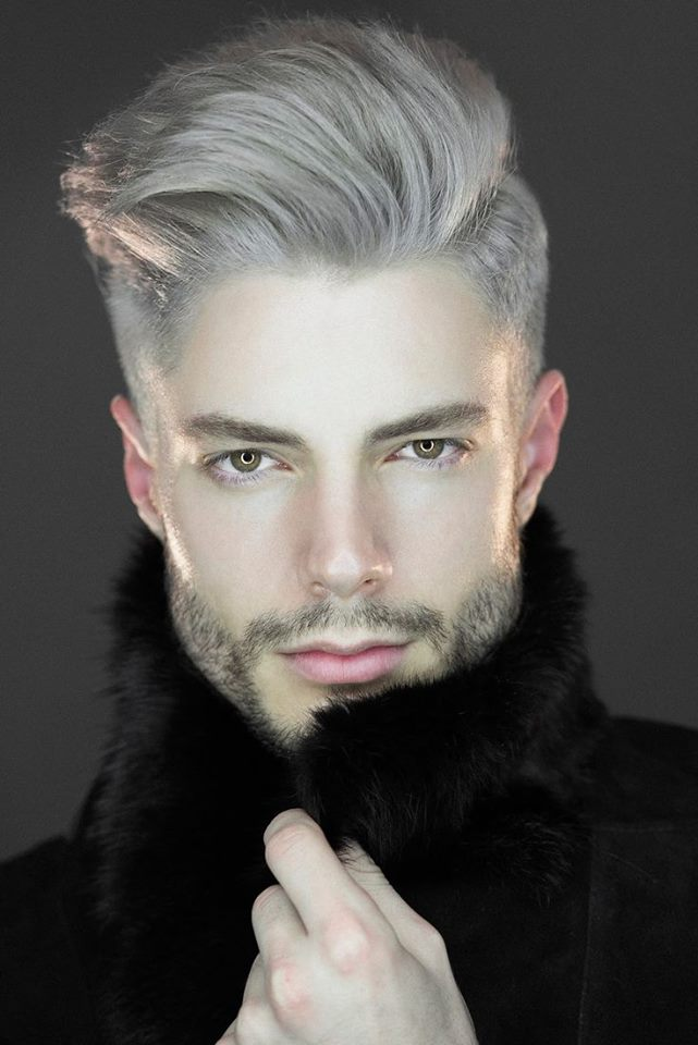 Grey Color Hair Trend-For Men 2016