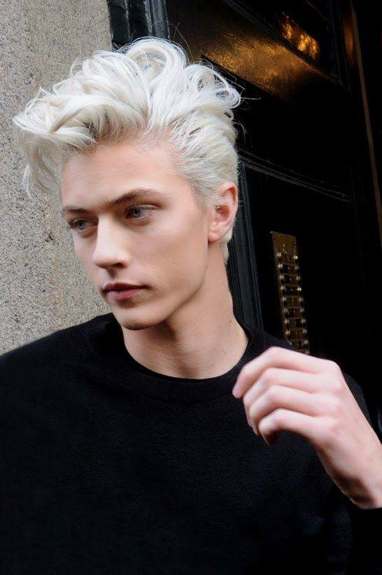 Men With Grey Color Hair Trend