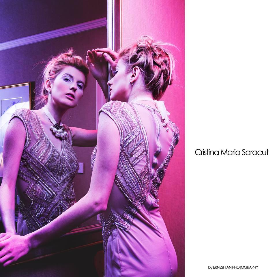 Christina Maria Saracut Female Model Fashion