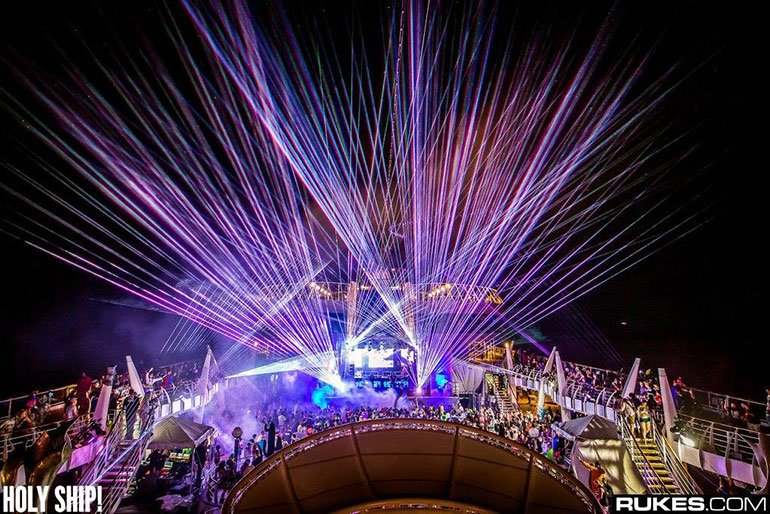 Cruise EDM Festival - Party Ideas