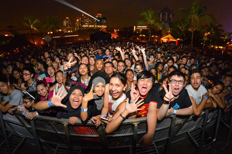 Live Concerts - Night Activity in Malaysia