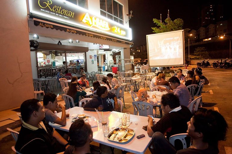 Mamak Stall - Night Activities in Malaysia