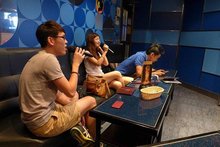 Sing Karaoke - Night Activities in Malaysia