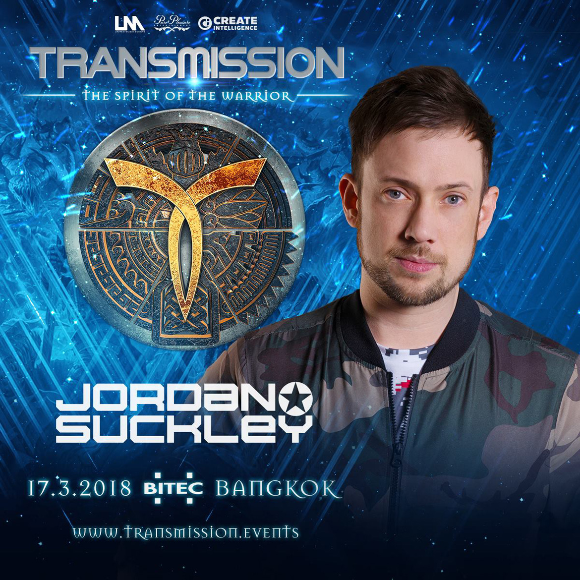 Jordan Suckley @ Transmission 2018 Lineup