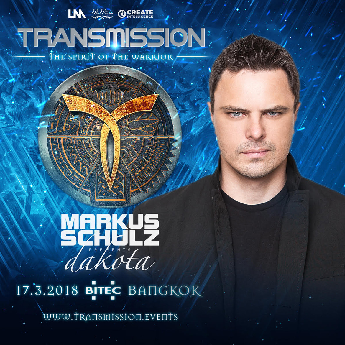 Markus-Dakota @ Transmission 2018 Lineup