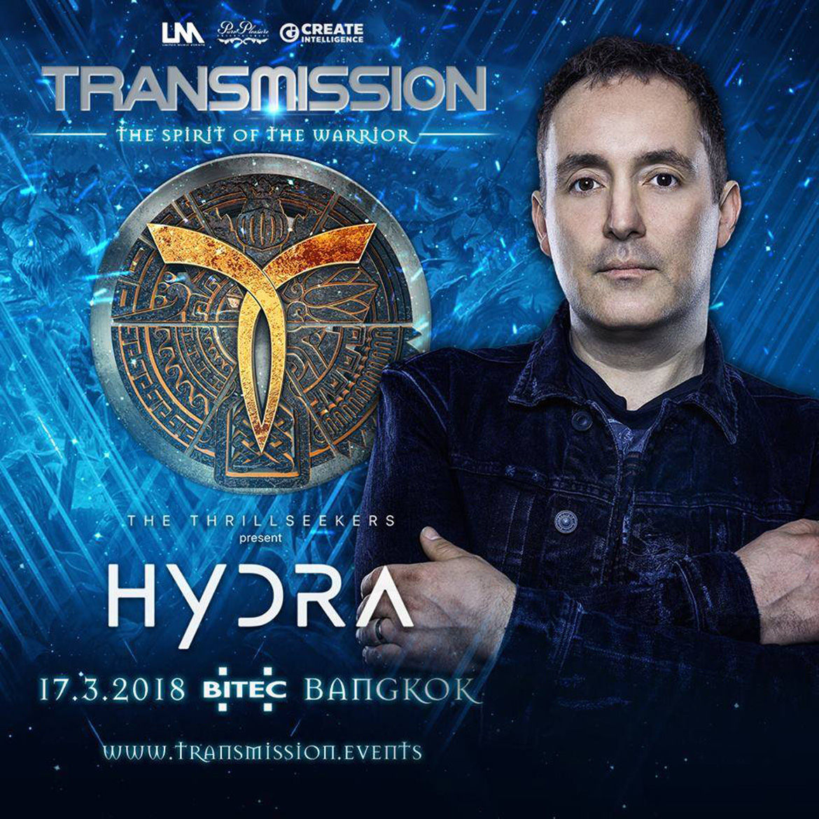 The Thrillseekers @ Transmission 2018 Lineup