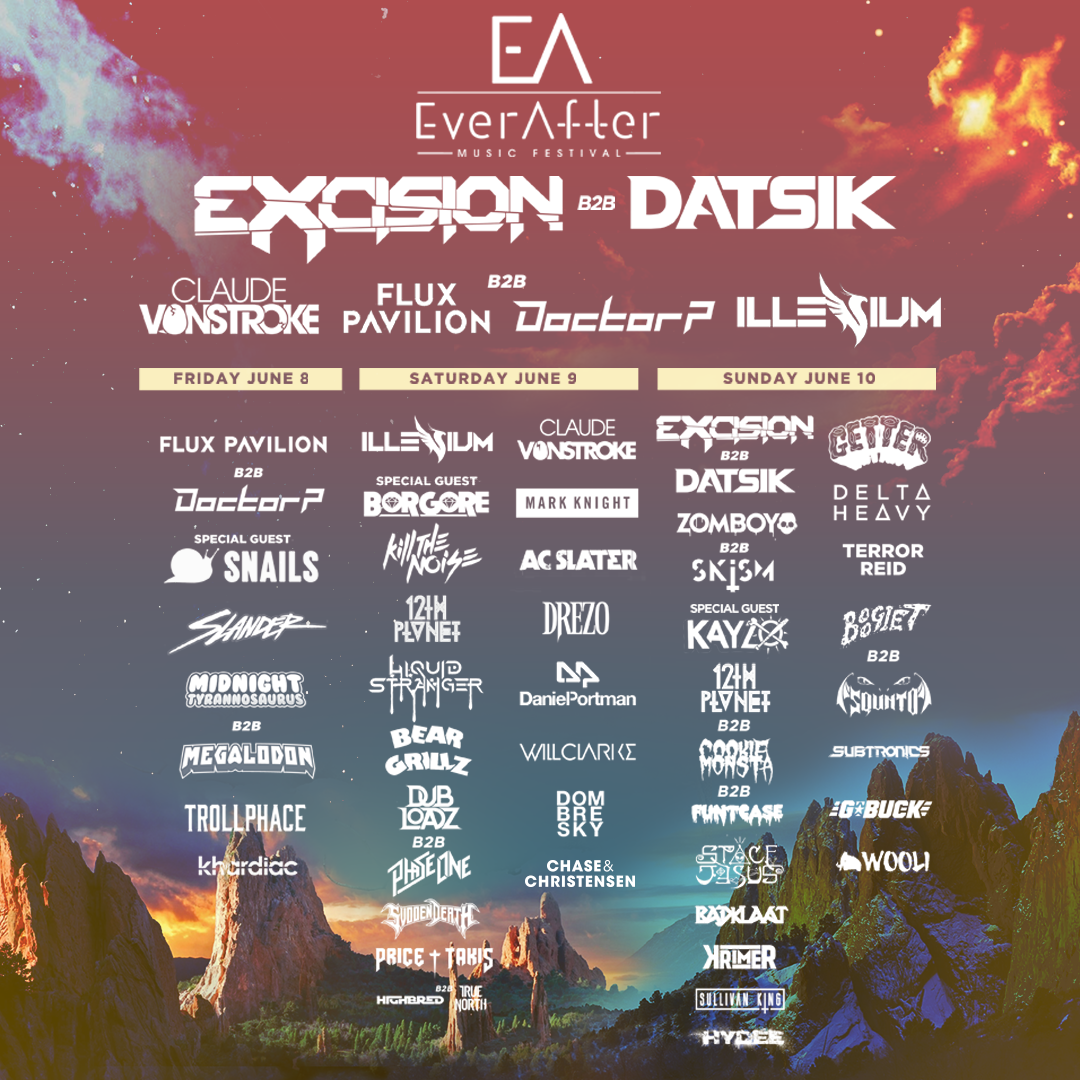 EverAfter Music Festival Lineup 2018