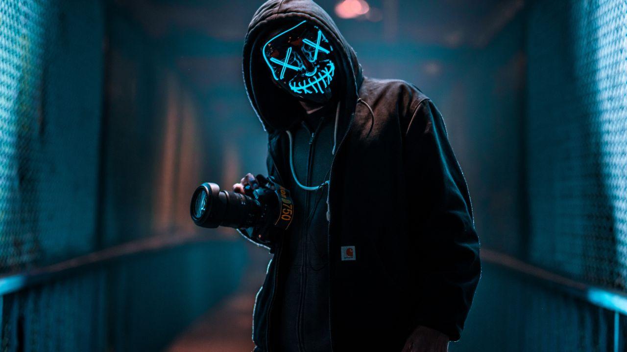 LED Purge Mask for Halloween