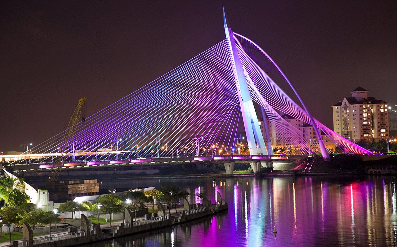 Seri Wawasan Bridge Putrajaya
