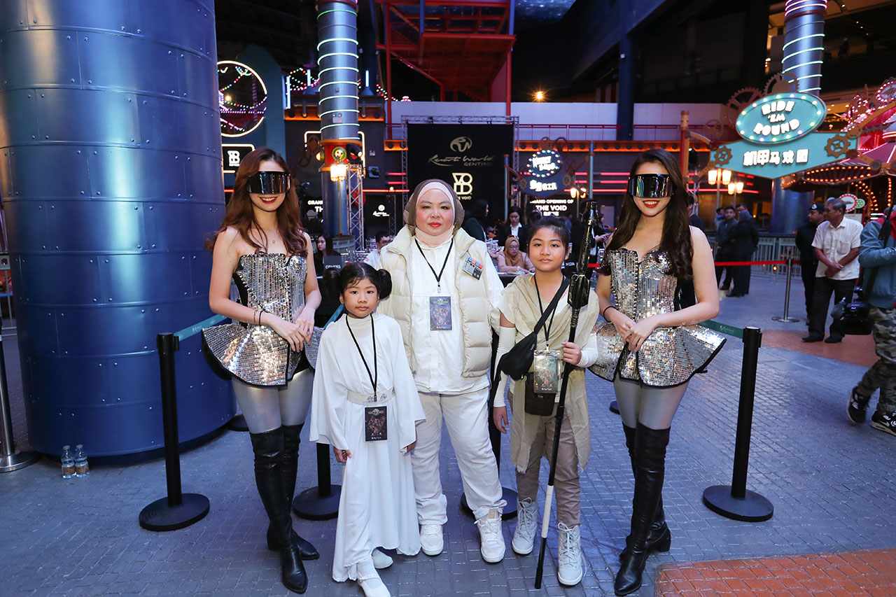 Star Wars Fan Club at the Grand Opening of The VOID at Resort World Genting