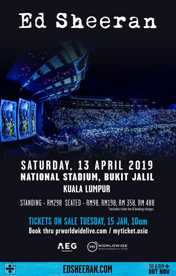 Ed Sheeran 2019 Concert