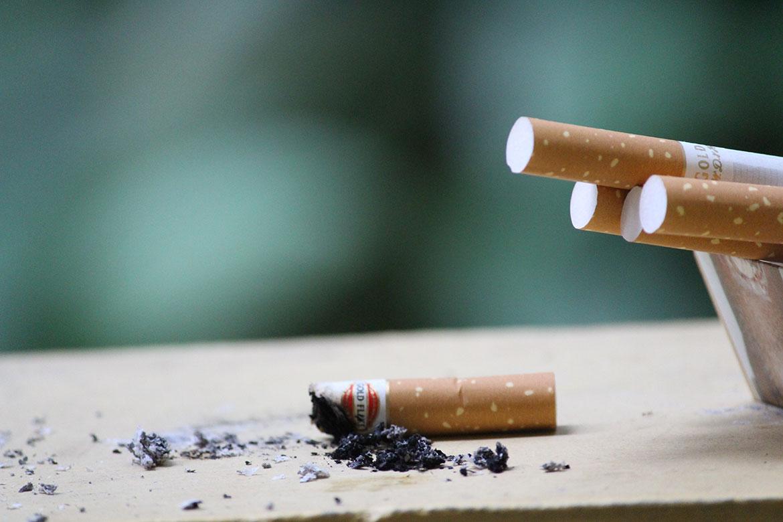Smoking Ashtray
