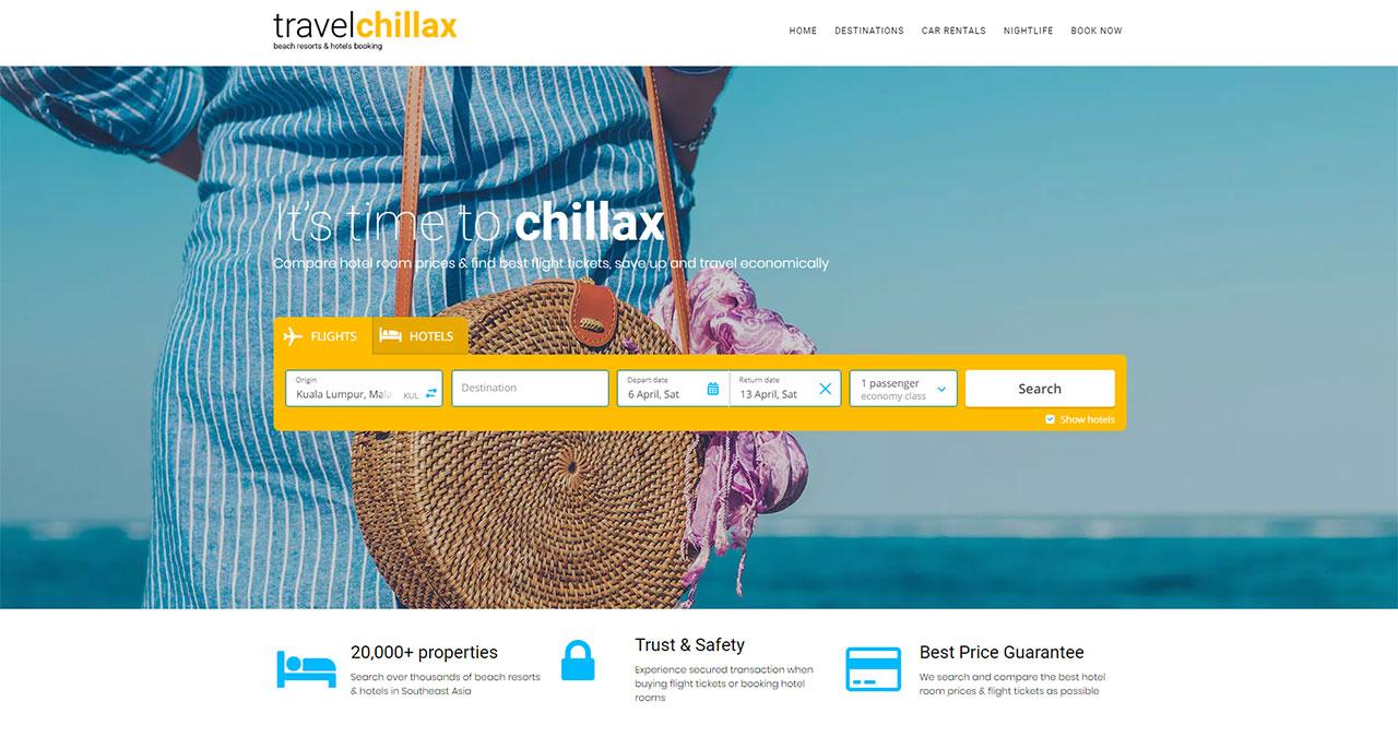 Travel Chillax Beach Resort Holiday Booking