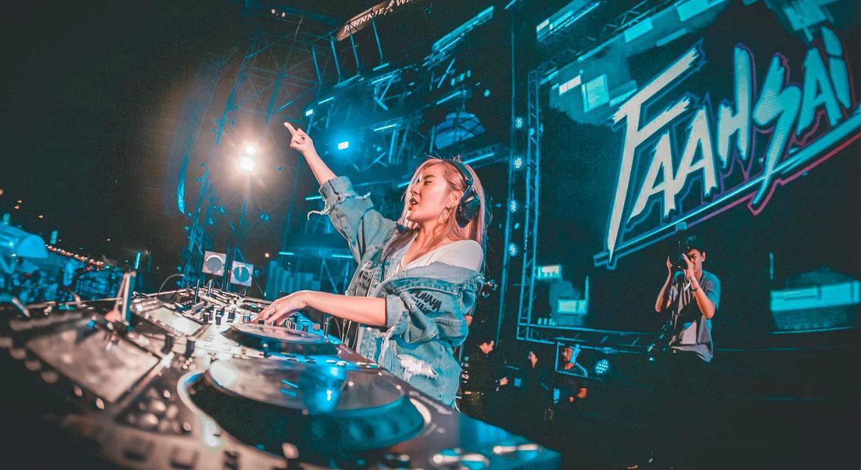DJ Faahsai Thailand Hottest Female DJ 2019