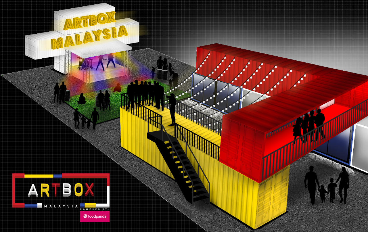 Artbox 2019 in Malaysia, September 2019