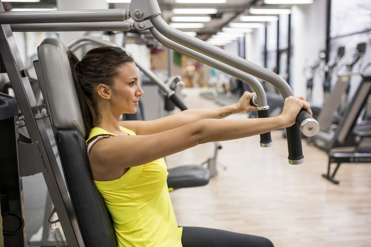 Best Workout Technique #5 - Seated Machine Chest Press Exercise