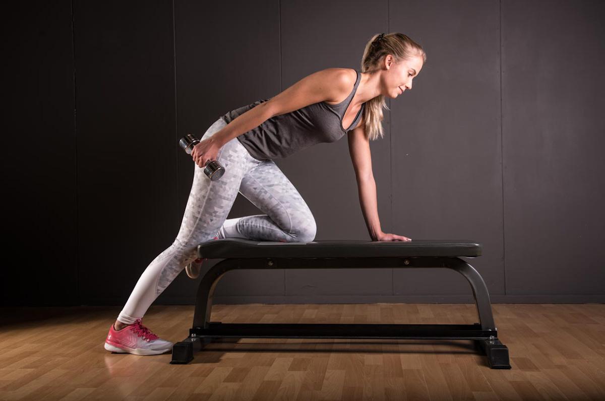 Best Workout Technique #10 - Triceps Kickback Exercise