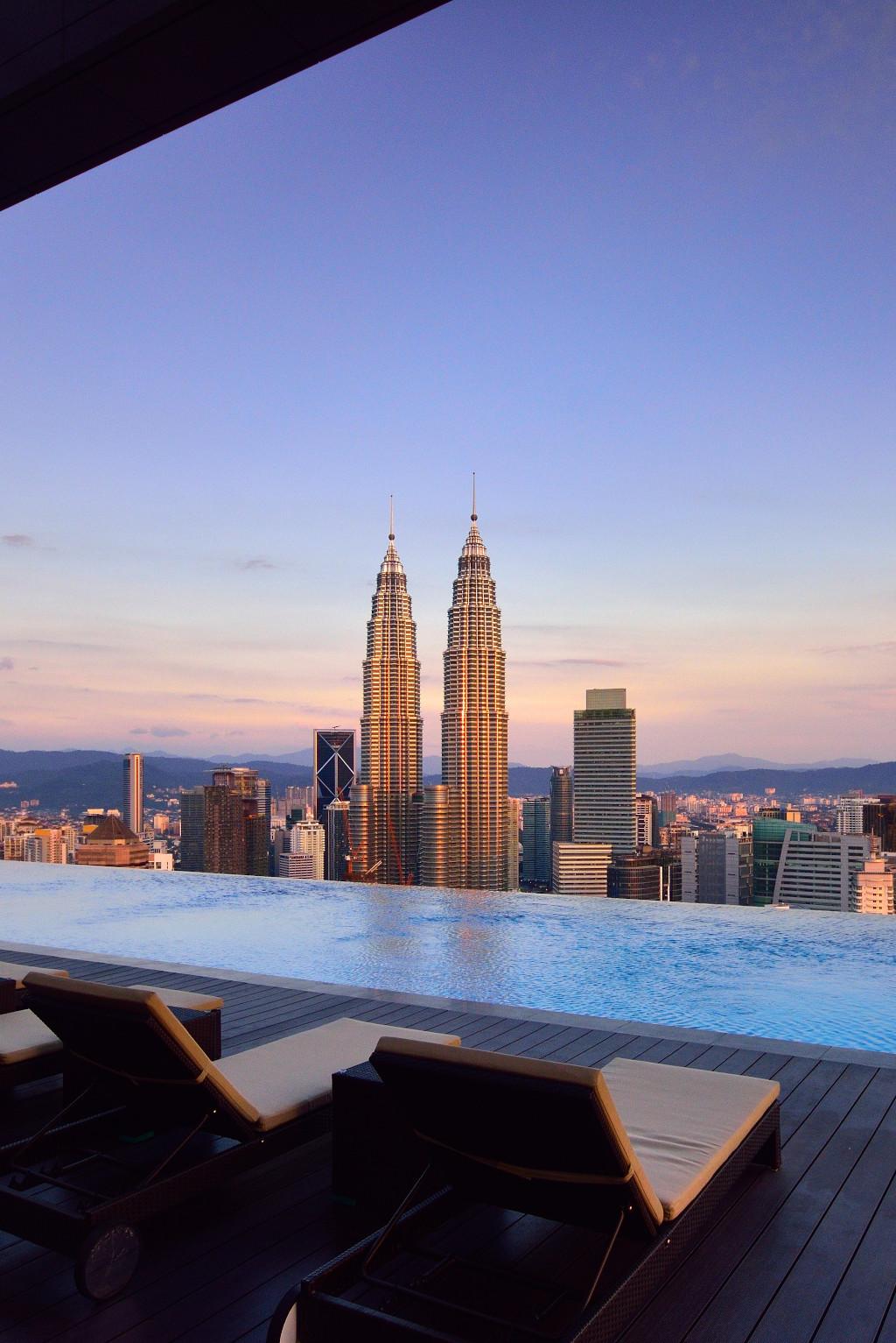 Swimming Pool View Hotel Kuala Lumpur
