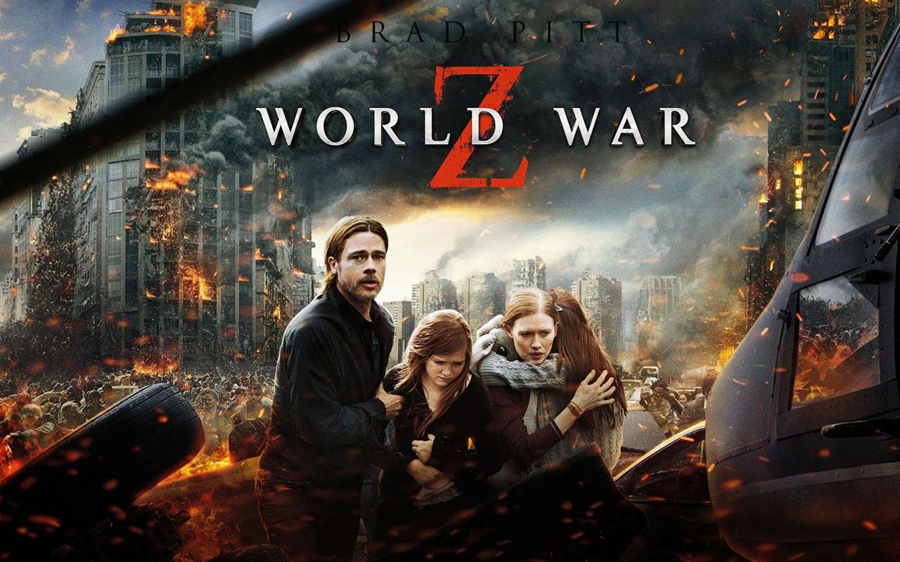 World War Z Netflix Best Zombie Movie