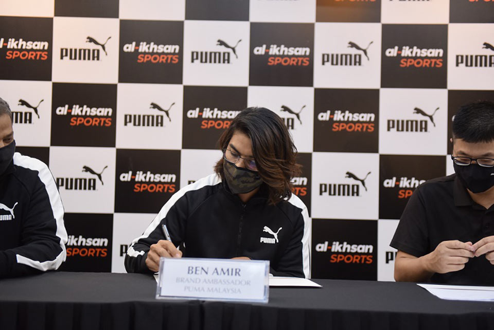 Puma Brand Ambassador 2021 Ben Amir